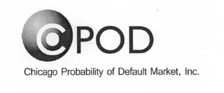 mark for CPOD CHICAGO PROBABILITY OF DEFAULT MARKET, INC., trademark #77656921