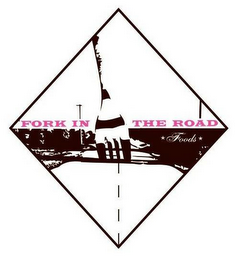 mark for FORK IN THE ROAD FOODS, trademark #77657155