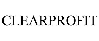 mark for CLEARPROFIT, trademark #77657749