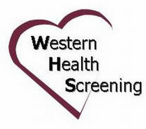 mark for WESTERN HEALTH SCREENING, trademark #77659770