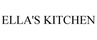 mark for ELLA'S KITCHEN, trademark #77662405
