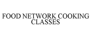 mark for FOOD NETWORK COOKING CLASSES, trademark #77665195