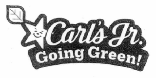 mark for CARL'S JR. GOING GREEN!, trademark #77665551