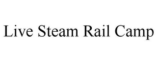 mark for LIVE STEAM RAIL CAMP, trademark #77670947