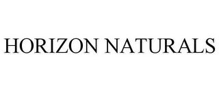 mark for HORIZON NATURALS, trademark #77676105