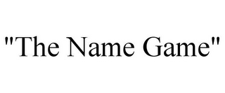"mark for ""THE NAME GAME"", trademark #77678417"