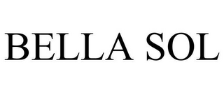 mark for BELLA SOL, trademark #77683548