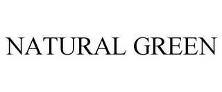 mark for NATURAL GREEN, trademark #77686577