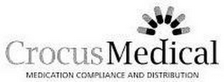 mark for CROCUS MEDICAL MEDICATION COMPLIANCE AND DISTRIBUTION, trademark #77687367