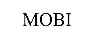 mark for MOBI, trademark #77688950
