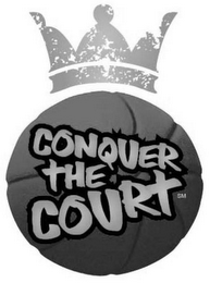 mark for CONQUER THE COURT, trademark #77690062