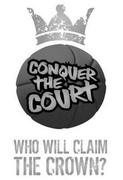 mark for CONQUER THE COURT WHO WILL CLAIM THE CROWN?, trademark #77690063