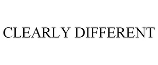 mark for CLEARLY DIFFERENT, trademark #77691913