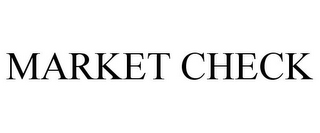 mark for MARKET CHECK, trademark #77692771