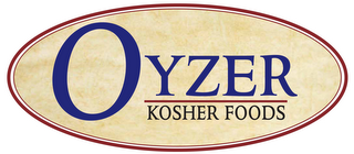mark for OYZER KOSHER FOODS, trademark #77692871