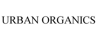 mark for URBAN ORGANICS, trademark #77694892