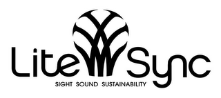 mark for LITESYNC SIGHT SOUND SUSTAINABILITY, trademark #77695278