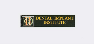 mark for DII DENTAL IMPLANT INSTITUTE, trademark #77696304
