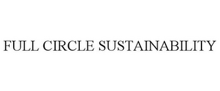 mark for FULL CIRCLE SUSTAINABILITY, trademark #77696785