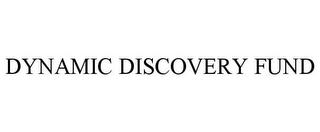 mark for DYNAMIC DISCOVERY FUND, trademark #77698454