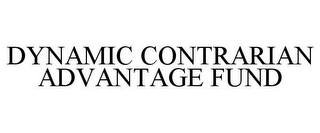 mark for DYNAMIC CONTRARIAN ADVANTAGE FUND, trademark #77698456