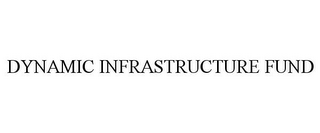 mark for DYNAMIC INFRASTRUCTURE FUND, trademark #77698853