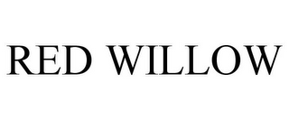 mark for RED WILLOW, trademark #77700274