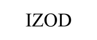 mark for IZOD, trademark #77700933
