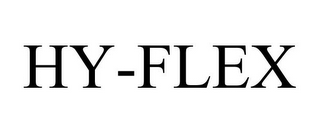 mark for HY-FLEX, trademark #77705473