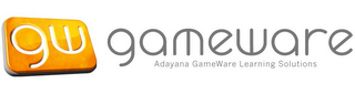 mark for GW GAMEWARE ADAYANA GAMEWARE LEARNING SOLUTIONS, trademark #77707120