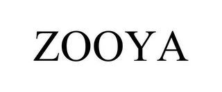 mark for ZOOYA, trademark #77707833