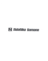 mark for HH HIDEHIKO YAMANE, trademark #77710342