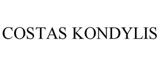 mark for COSTAS KONDYLIS, trademark #77710626