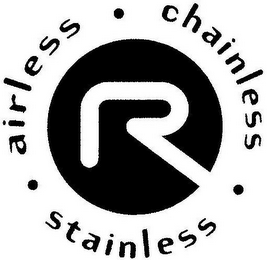 mark for R · AIRLESS · CHAINLESS · STAINLESS, trademark #77711286