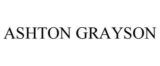 mark for ASHTON GRAYSON, trademark #77711445