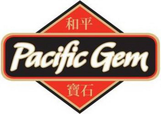mark for PACIFIC GEM, trademark #77711777