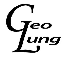 mark for GEO LUNG, trademark #77717923
