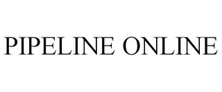 mark for PIPELINE ONLINE, trademark #77720644