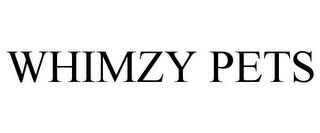 mark for WHIMZY PETS, trademark #77721016