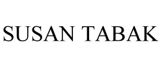 mark for SUSAN TABAK, trademark #77723204