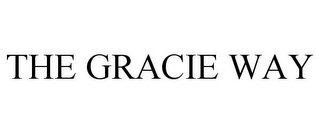 mark for THE GRACIE WAY, trademark #77723484