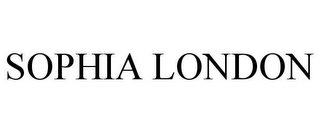 mark for SOPHIA LONDON, trademark #77723671