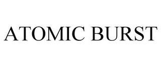 mark for ATOMIC BURST, trademark #77724769