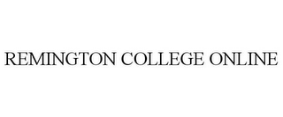 mark for REMINGTON COLLEGE ONLINE, trademark #77726174