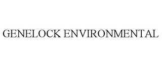 mark for GENELOCK ENVIRONMENTAL, trademark #77726915