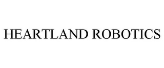 mark for HEARTLAND ROBOTICS, trademark #77727161