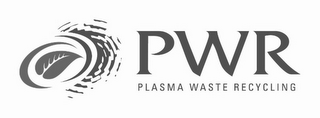 mark for PWR PLASMA WASTE RECYCLING, trademark #77729084