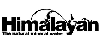 mark for HIMALAYAN THE NATURAL MINERAL WATER, trademark #77730416