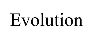 mark for EVOLUTION, trademark #77730736
