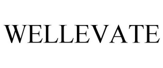 mark for WELLEVATE, trademark #77731746